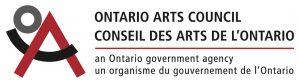 We are grateful for the support of the Ontario Arts Council.