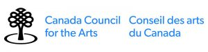 We are grateful for the support of the Canada Council for the Arts.
